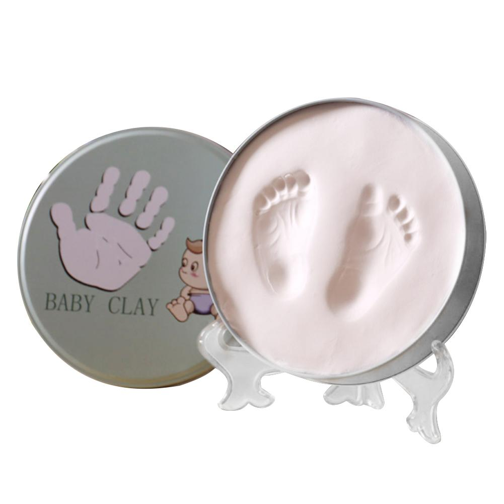 Newborn Baby Footprint Baby Hand And Foot Baby Print Inkpad Baby Photo Frame Hand And Foot Print Souvenir Baby Items