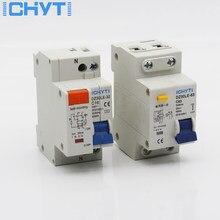 DZ30LE TPNL DPNL 230V 1P + N Disyuntor de corriente Residual con 10A 16A 20A 32A corriente de fuga protección disyuntores RCBO RCCB ELCB MCB