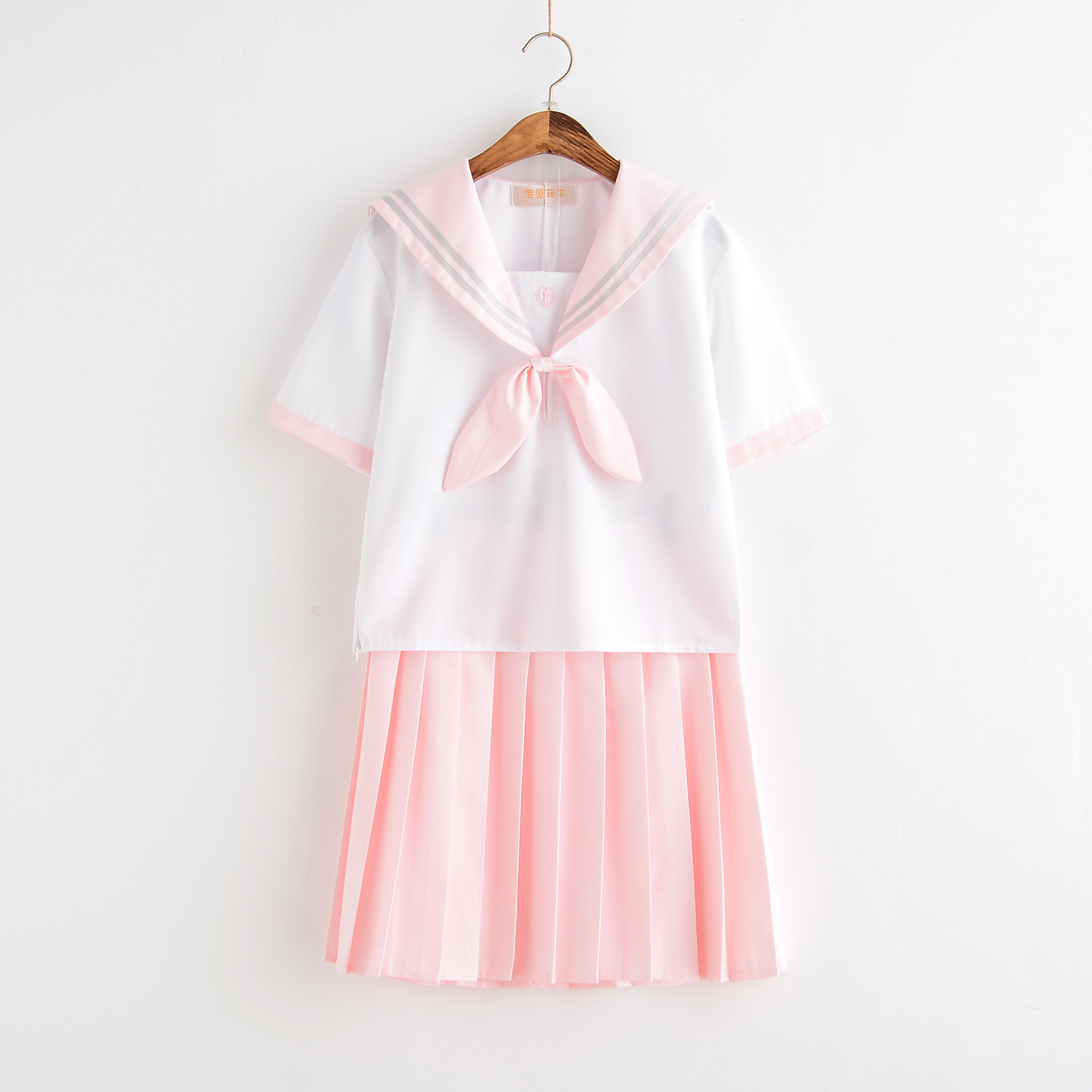 Japanese School Uniform For Girls Sailor Pink Mint Style Students Clothes For Girl Plus Size Lala Cheerleader Clothing