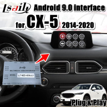 Android 9.0 Multimedia Video Interface Gps Navigatie Voor Mazda CX-5 2014-20 Ondersteuning Draadloze Carplay, android Auto Door Lsailt