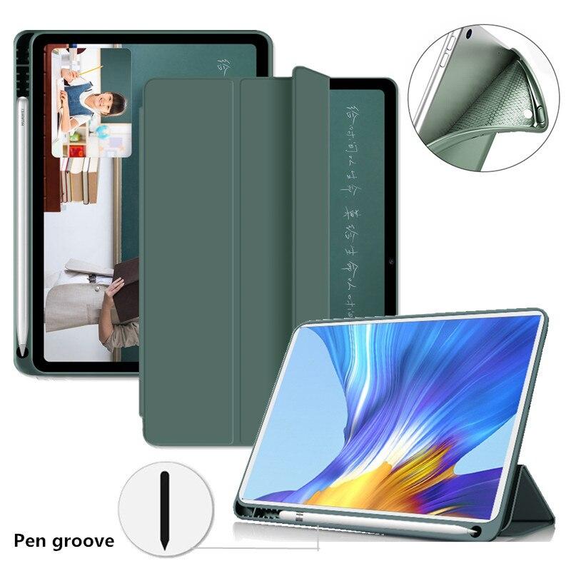 Чехол для планшета Huawei matepad 10,4 силиконовый оригинальный держатель для карандашей для Huawei Matepad Pro 10,8/honor V6 чехол для планшета