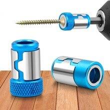 Anel magnético universal do bocado da chave de fenda do metal do anel 1/4 ring para o anel poderoso do ímã anticorrosivo do bocado de broca da pata de 6.35mm