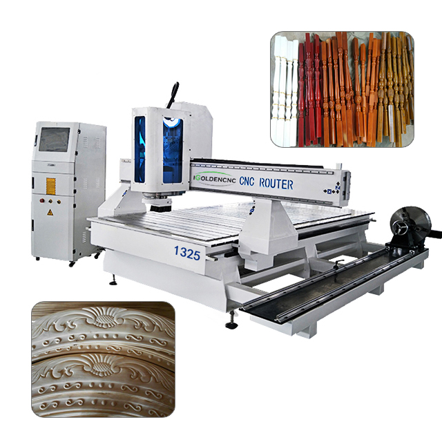 4 axis rotary wood cnc router machines engraver milling 3d cnc wood working machine for wood carving