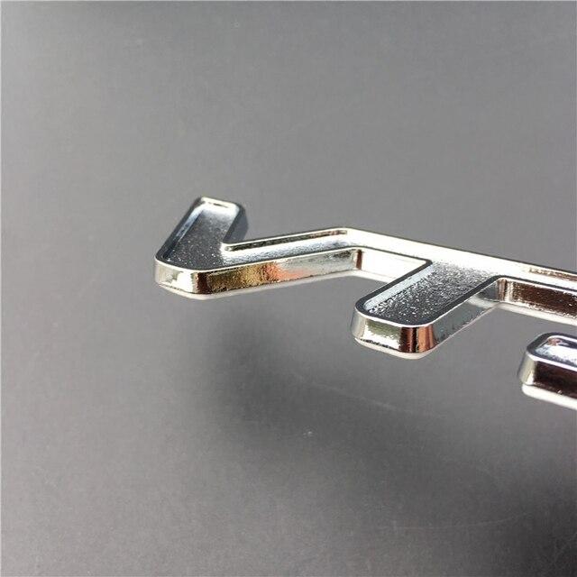 1 pièces 3D autocollant en métal VTS Badge emblème Logo pour citroën C2 C3 C4 C5 Saxo Xsara VTR Sport voiture autocollants et décalcomanies