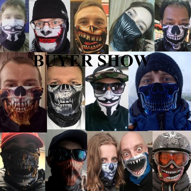 Customized Neck Gaiter Fishing Sport Scarf Seamless Bandana Tube Buff Headband Running Hunting Face Mask Bicycle Face Shield Men 4