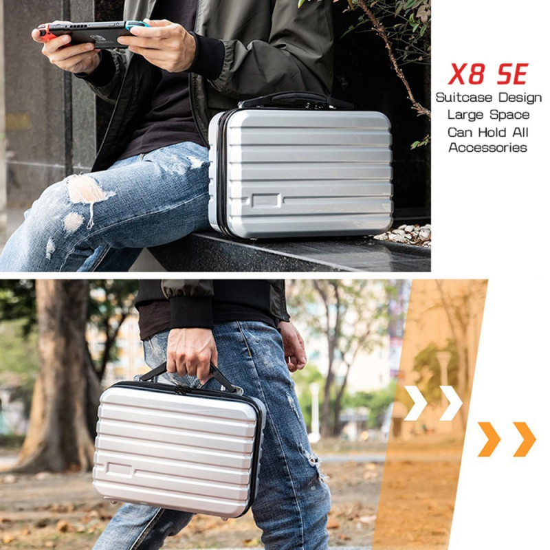 Купить с кэшбэком 2019Newest Stable Hard Carrying Case Storage Bag Handheld Box Handbag For Xiaomi X8 SE Drone shoulder bag