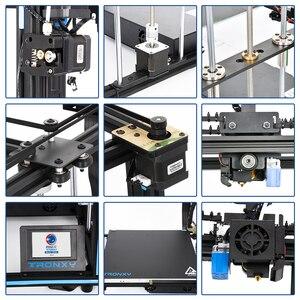 Image 5 - 2020 Tronxy X5SA 24V nuova stampante 3D aggiornata kit fai da te piastra di costruzione in metallo Touch Screen LCD da 3.5 pollici livellamento automatico ad alta precisione