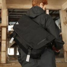Men Messenger Bags Nylon Waterproof Big Shoulder Ba