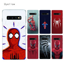 Uyellow Soft Case For Samsung S8 S9 S10 S10E Plus J4 J6 J8 A6 A7 A8 A9 2018 Note 8 9 10 Pro Starry Red Spiderman TPU Cover