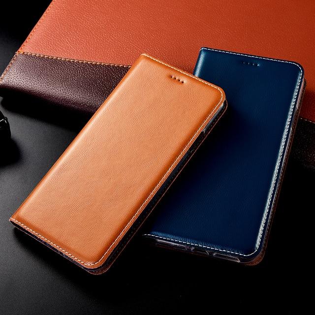 Babylon Genuine Leather Case For Doogee Mix Lite 2 BL5000 BL7000 BL12000 Pro Y6 Y7 Y8 Y8C Y9 N10 N20 Flip Cell Phone Cover Cases