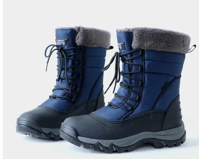 Мужские зимние уличные походные ботинки мужские полностью водонепроницаемые 3M