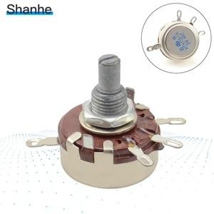2W Linear Single Rotary Potentiometer 1k 2K2 4K7 10K 470K 220K 330K 1M WTH118-1A