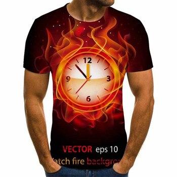 3D Gedrukt 2020 Newest 3D T-shirt 3D Summer Fashion T-shirt Men's T-shirt Anime T-shirt Vintage Vintage Black T Shirt t shirt trussardi t shirt