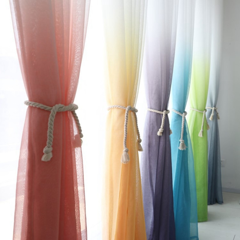 3d Printed Sheer Curtains Tulle Drapes For Living Room Bedroom Kitchen Curtain Window Treatment Voile Curtains Door Decorations