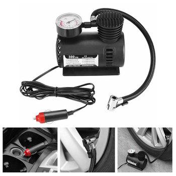 Akcesoria samochodowe Automotive wytrzymały pojazd Mini kompresor powietrza 300 PSI pompka do opon 12V części samochodowe tanie i dobre opinie Dewtreetali 0 5kg 14cm Q03869 15cm 100A Black