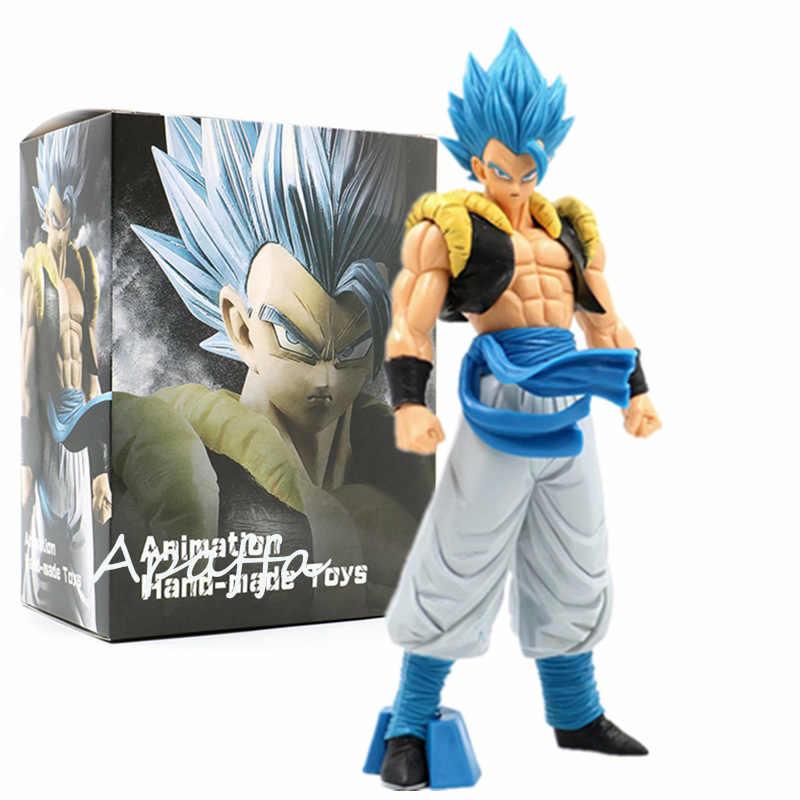 Figura de vegeta de 32CM de pelo azul juguetes cómic de Japón Dragon Ball Z Ultimate Warrior Anime acción figura PVC juguetes de modelos de colección regalos