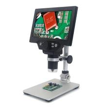 Microscópio digital do microscópio de kkmoon g1200 12mp 1 1200x para a ampliação contínua da amplificação eletrônica de solda dos microscópios