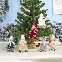 Get more info on the Knitted Santa Claus Snowman Doll Ornaments Pendants Christmas Tree Hanging Decoration Home Wedding Xmas Party DecorCM