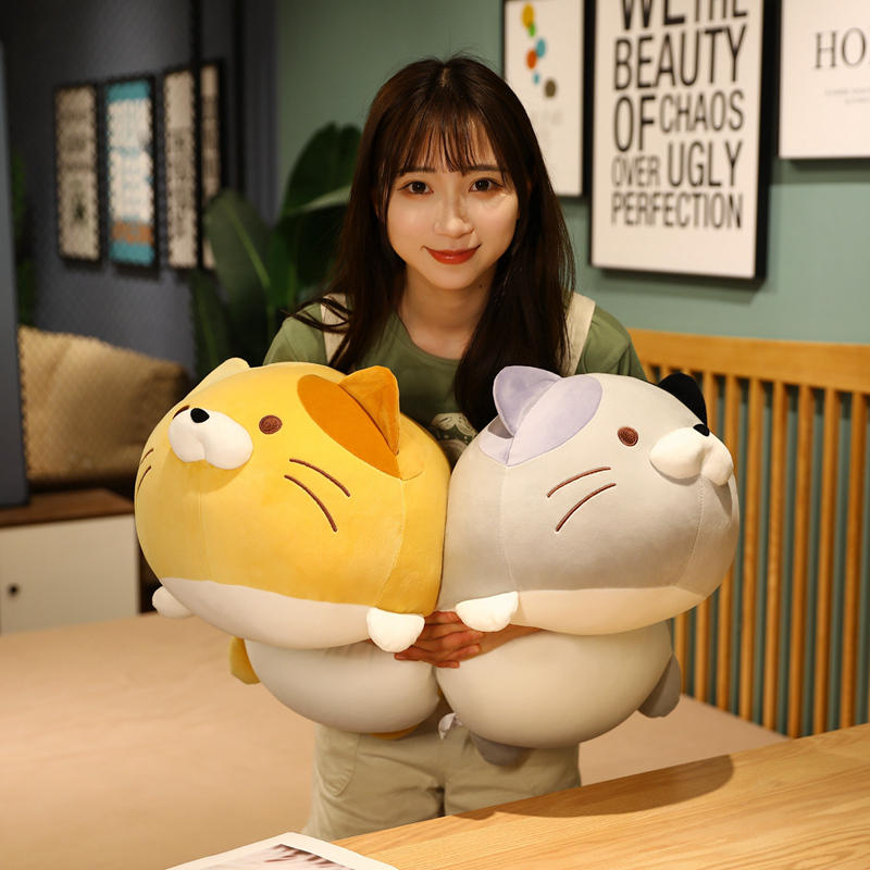 Cat Toys Stuffed Animals Plushie Anime Dog Pillow Soft Cute Cushion Home Decor Doll Birthday Gift For Girls Kids Just6F