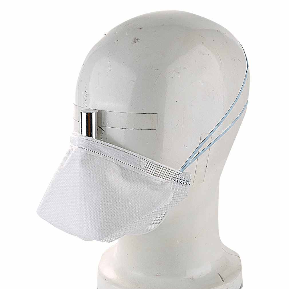Анти-туман N95 полумаска FFP2 головная повязка круглая маска Пылезащитная маска для верховой езды маска против пыли маски пыленепроницаемый защитный чехол для лица горячая распродажа