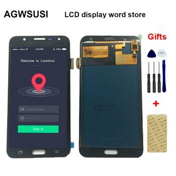 LCD do Samsung Galaxy J7 Neo J701 sm-j701f J701M J701MT / DS wyświetlacz LCD + ekran dotykowy szkło Digitizer montaż