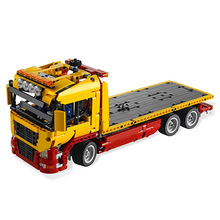 Toy Truck-Blocks 1115pcs-Bricks Technic Flatbed Children Compatible 8109-1 for Gift Creativity