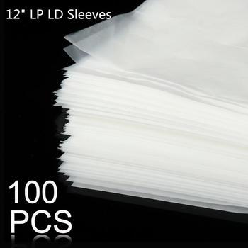 100 sztuk 12 #8222 PE płyta winylowa LP LD Record plastikowe torby antystatyczne rekord rękawy zewnętrzny wewnętrzny plastikowy przezroczysty pokrowiec pojemnik tanie i dobre opinie LEORY 12 Inch Tulei cd