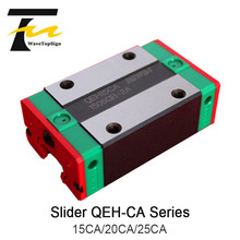 HIWIN  Linear Guide Slider QEH15CA 20CA 25CA Linear Rail Linear Bearing use for Engraving and Cutting Machine