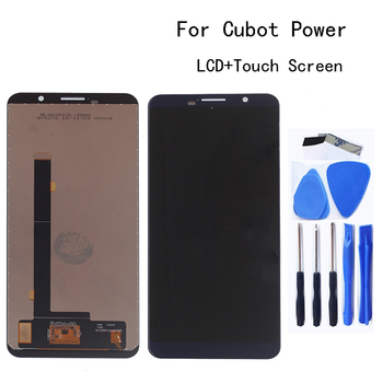100% Tested 5.99 For Cubot Power LCD Display +Touch Screen Digitizer Assembly Replacement Mobile Phone LCD Display Repair kit free shipping for original cubot p6 phone rear back camera for cubot p6 phone repair parts replacement in stock tracking number
