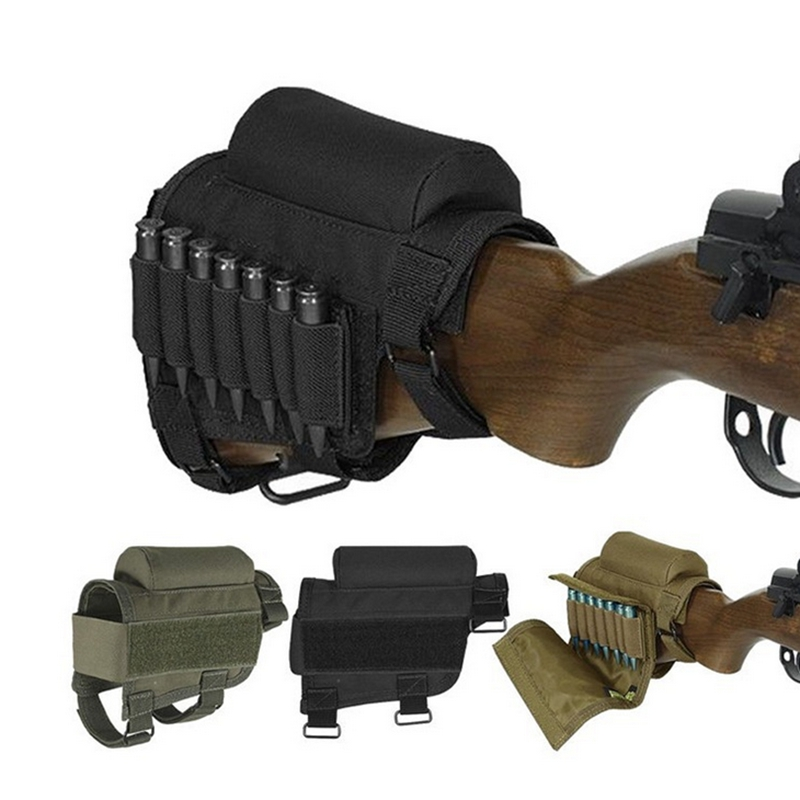 Tactical Removable Adjustable Bullet Stock 1