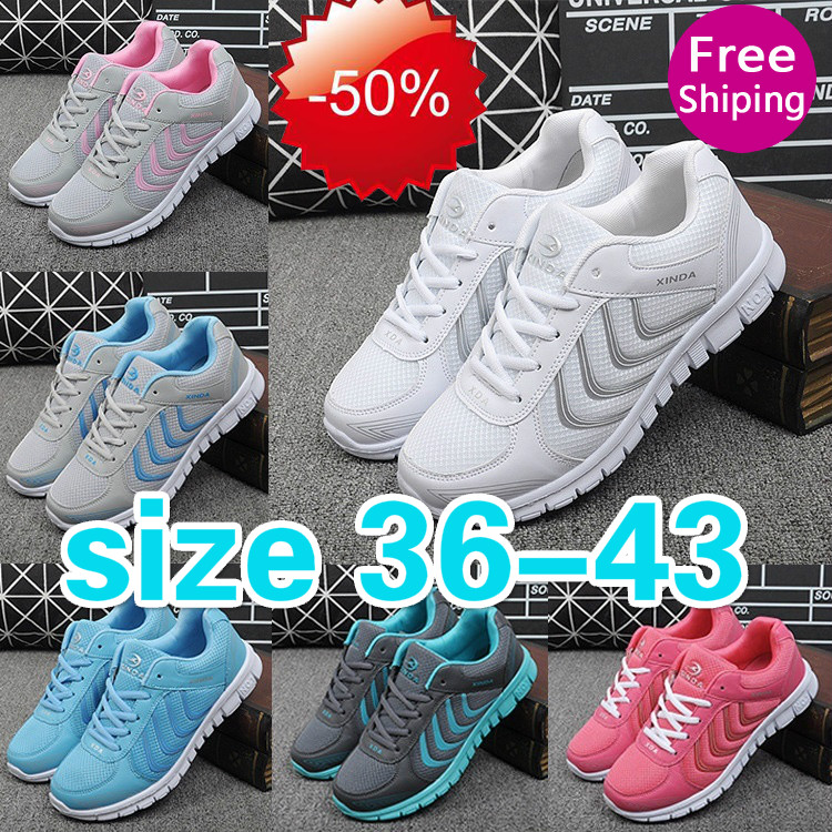 Spring Summer Breathable Fashion Women's men Shoes Mesh women Shoes Casual Shoes running shoes men sneakers