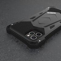 R-JUST для IPhone 11 11Pro Max Роскошные Doom Armor Duty противоударные металлические алюминиевые чехлы для телефонов IPhone 11 Pro max XS XR 7 8 plus