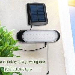 Наружный-Закрытый водонепроницаемый солнечный светильник для двора s лестничная лампа уличный светильник s светодиодный солнечный Сплит н...