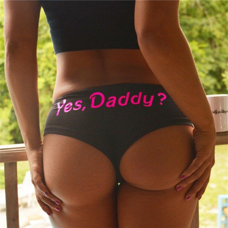Women Funny Lingerie G-string Briefs Underwear Panties T string Thongs Knickers