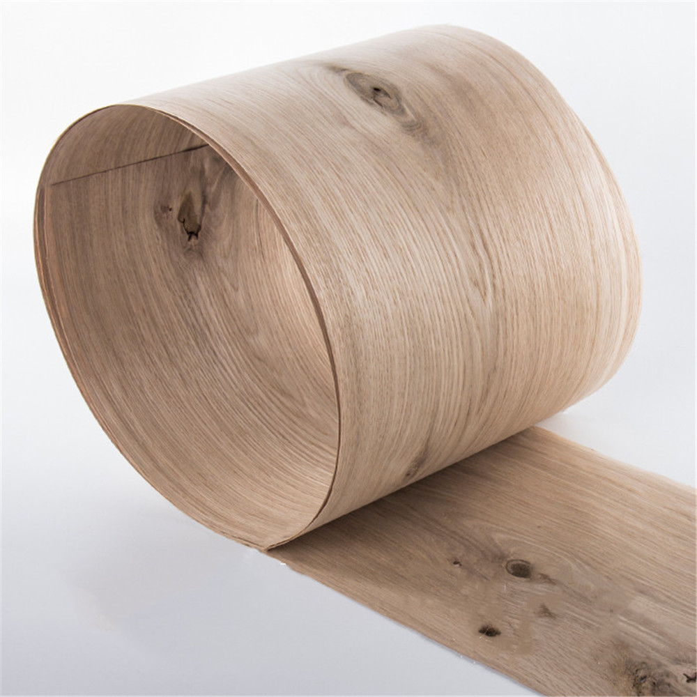 2x Natural Genuine Knot Oak Knotty Wood Veneer Sliced Vintage Furniture Veneer About 15cm X 2.5m 0.4mm Thick