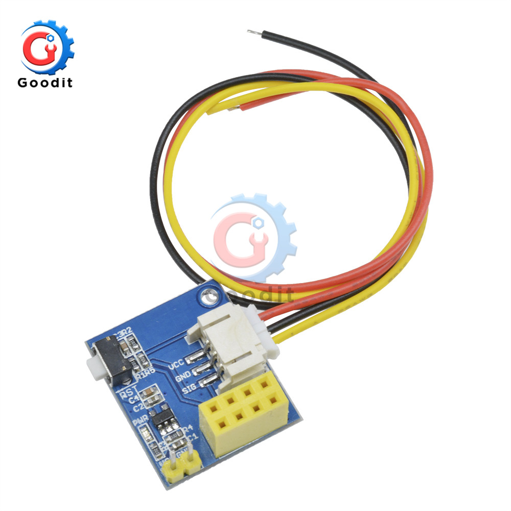 RGB LED Controller Module ESP8266 ESP-01 ESP-01S For Arduino IDE WS2812 LED Light Ring Smart Electronic Christmas DIY