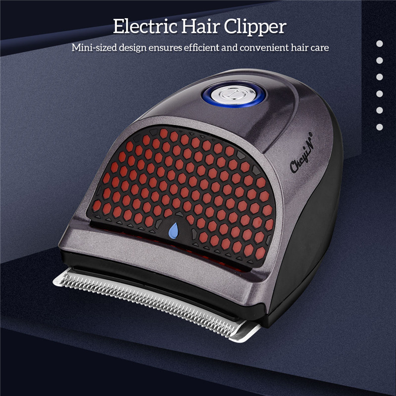 Compact Cordless Clipper Hair Trimmer Haircut Device Men Shave Machine Grooming Kit With Sharp Cutter Head Limit Combs