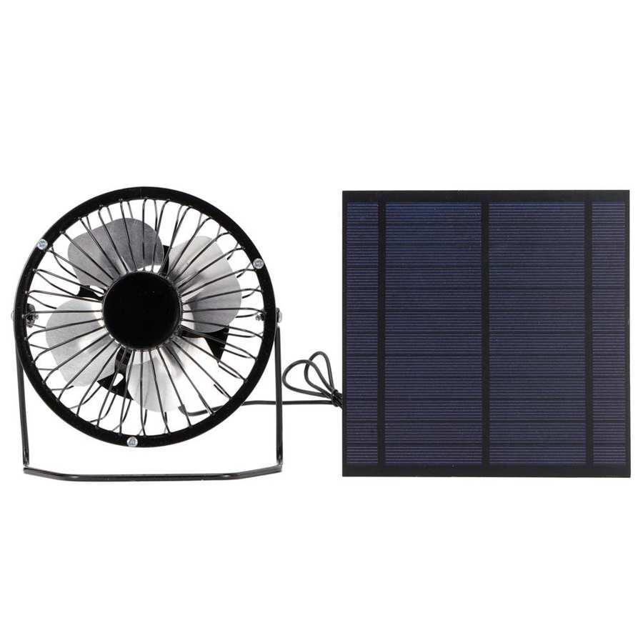 ventilador de refrigeração portátil fotovoltaico painel solar