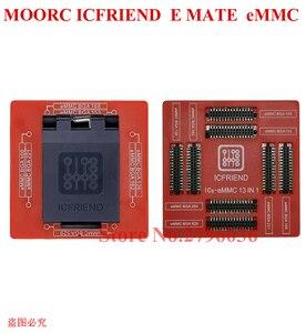 Image 4 - Nowy MOORC wysokiej prędkości E MATE X E MATE BOX EMATE EMMC BGA 13in 1 dla 100 136 168 153 169 162 186 221 529 254 Z3X łatwe Jtag