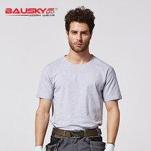 Bauskydd B227workwear мужской комбинезон с коротким рукавом дышащая футболка Рабочая Униформа летняя рабочая одежда безопасная одежда Рабочая Рубашка