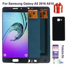 Original AMOLED LCD Screen For Samsung Galaxy A5 2016 A510F A510M A510FD A5100 A510 Lcd Display Touch screen Digitizer Assembly