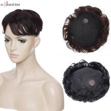 S noilite 16x19 см 35 г накладные волосы человеческие моноблочный