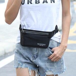 Image 3 - Sac de ceinture pour téléphone portable, sac de voyage étanche, Fitness, multifonctionnel, sac pour passeport course à pied