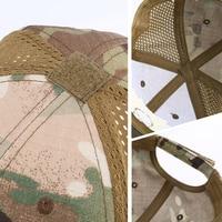 Military baseball caps camouflage