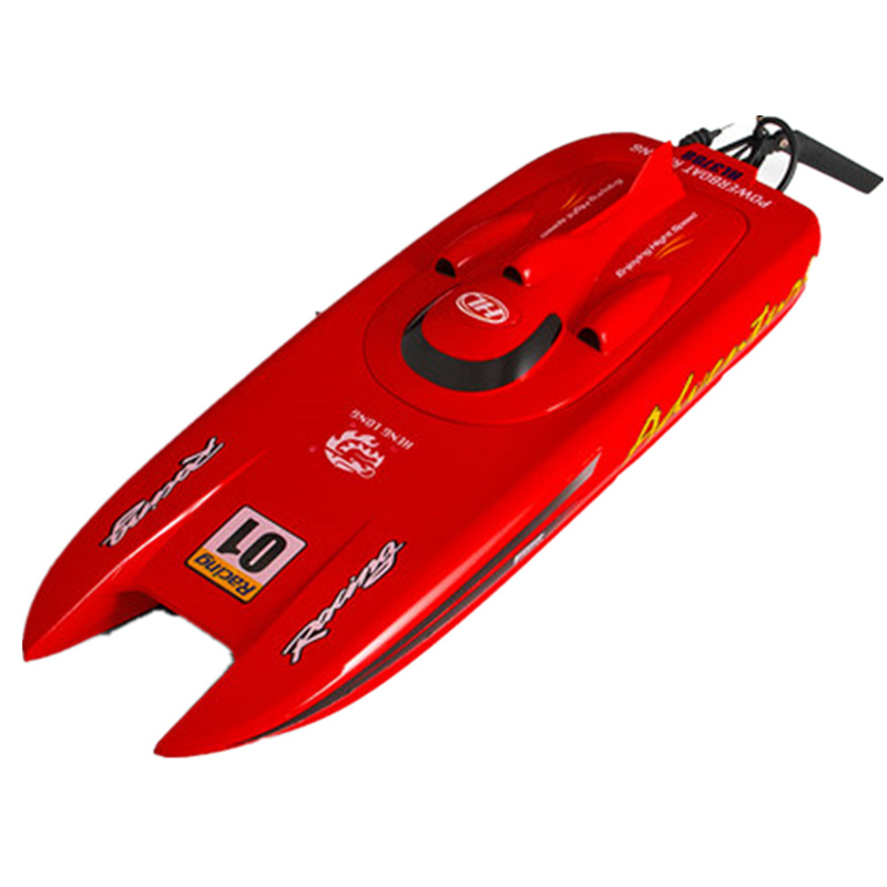 Heng Long 3788 RC Boat 53cm 2.4G 30km/h Electric 4CH Remote Control Boat Water Cooling RTR Model Toys with 2 Batteries