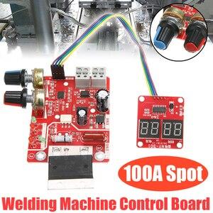 Image 1 - 100A Digital Spot Welder Machine Time Control Board Spot Welding Adjust Time & Current Transformer Controller Panel Module