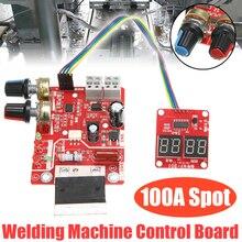 Nueva máquina de soldadura por puntos de NY D01 Junta de Control 100A máquina de soldadura por puntos controlador de tiempo actual Panel de Control módulo