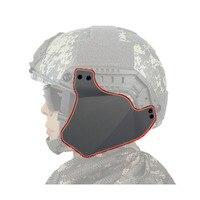 Up Rüstung Seite Ohr Abdeckung Protector für Airsoft Paintball Tactical FAST Helm-in Taktische Kopfhörer und Zubehör aus Sport und Unterhaltung bei