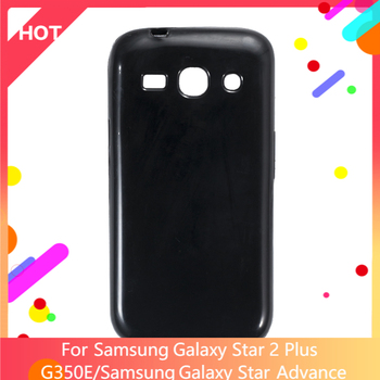 Galaxy Star 2 Plus G350E Case Matte Soft Silicone TPU Back Cover For Samsung Galaxy Star Advance Phone Case Slim shockproof image