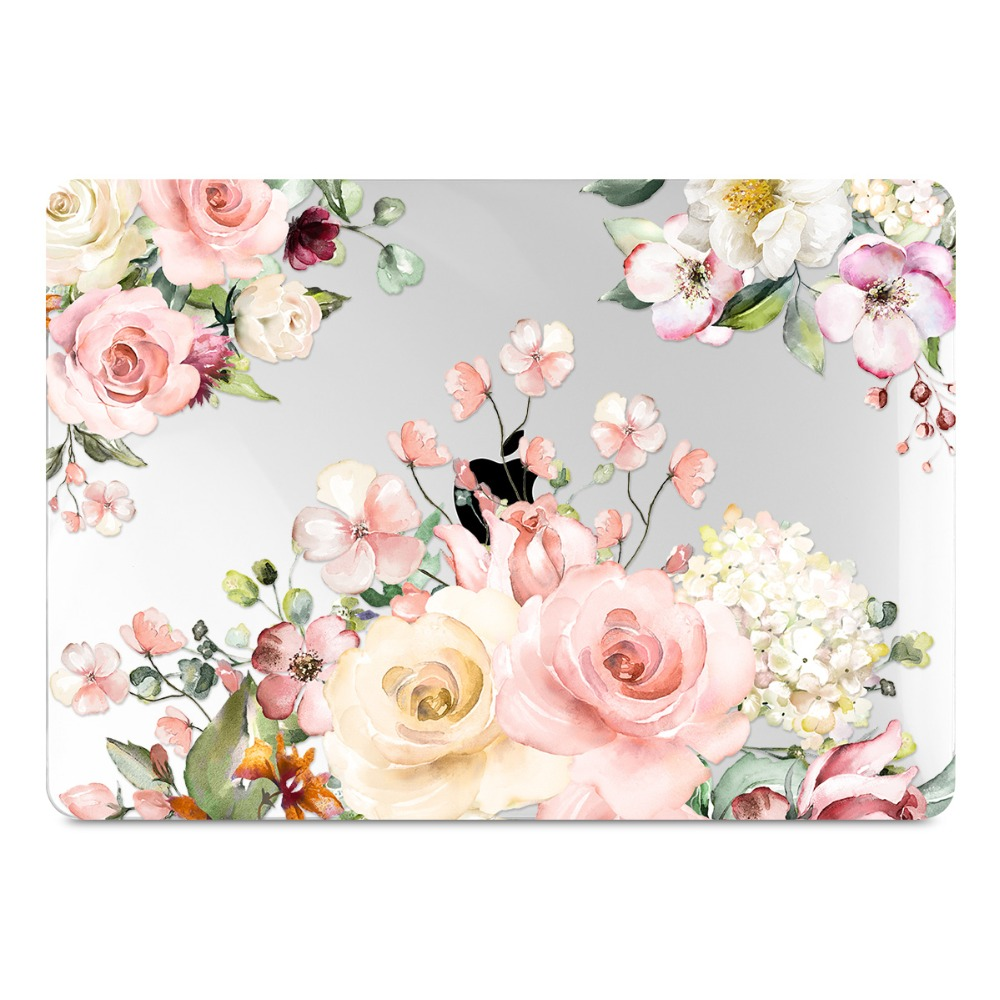 Floral Printing Hard Case for MacBook 95